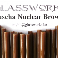 Lauscha Special Nuclear Brownie (6-8mm)
