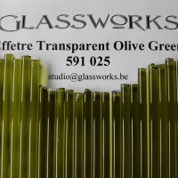 Effetre Transparent Olive Green (ET 591 025)