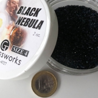 """Black Nebula"" frit - medium (60g)"